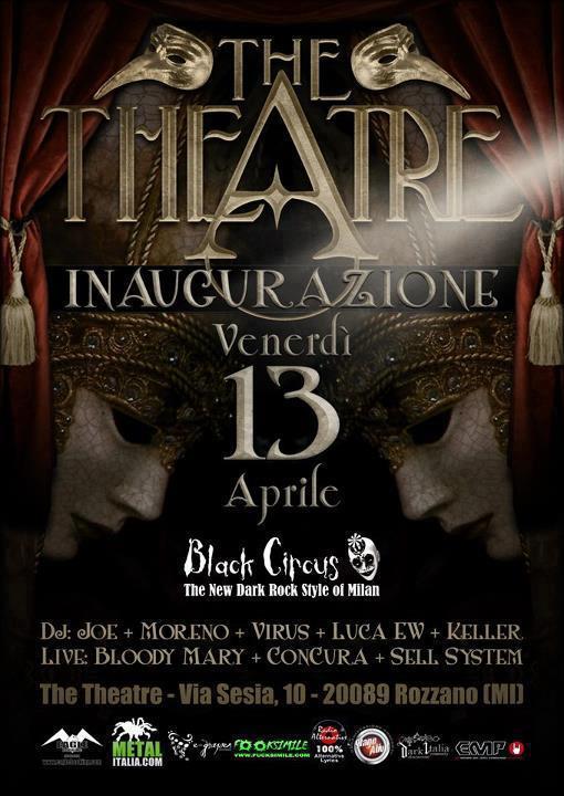 MILANO: THE THEATRE. INAUGURAZIONE IL 13 APRILE