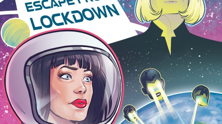 "NUOVO VIDEO: KIM BINGHAM USA 52 FILTRI INSTAGRAM PER DARE UN LOOK SCI-FI AL SINGOLO POWER POP ""SWEET IRENE: ESCAPE FROM LOCKDOWN"""